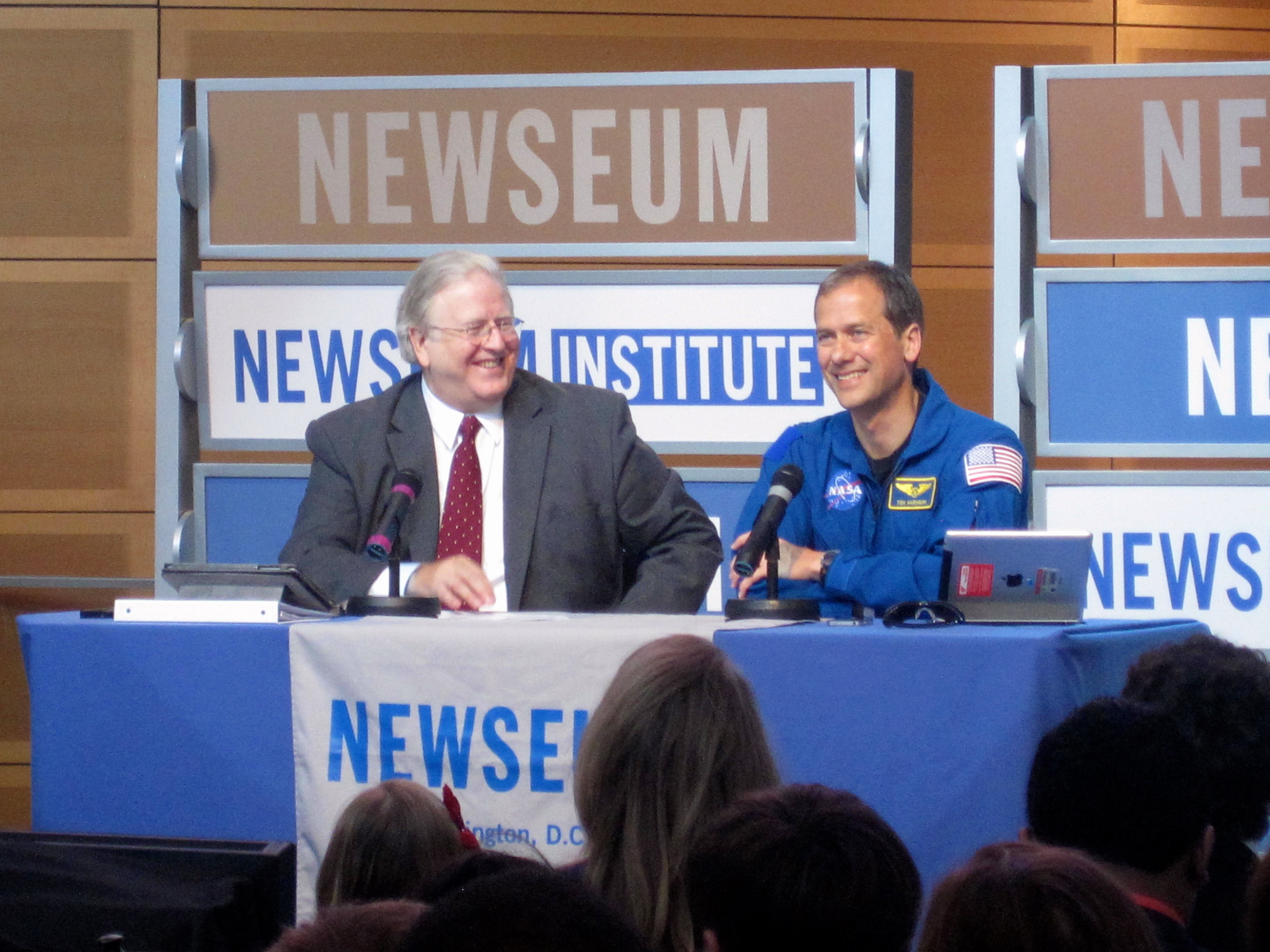 NASA Astronaut Tom Mashburn Suggests a Spacewalk for Global Policymakers
