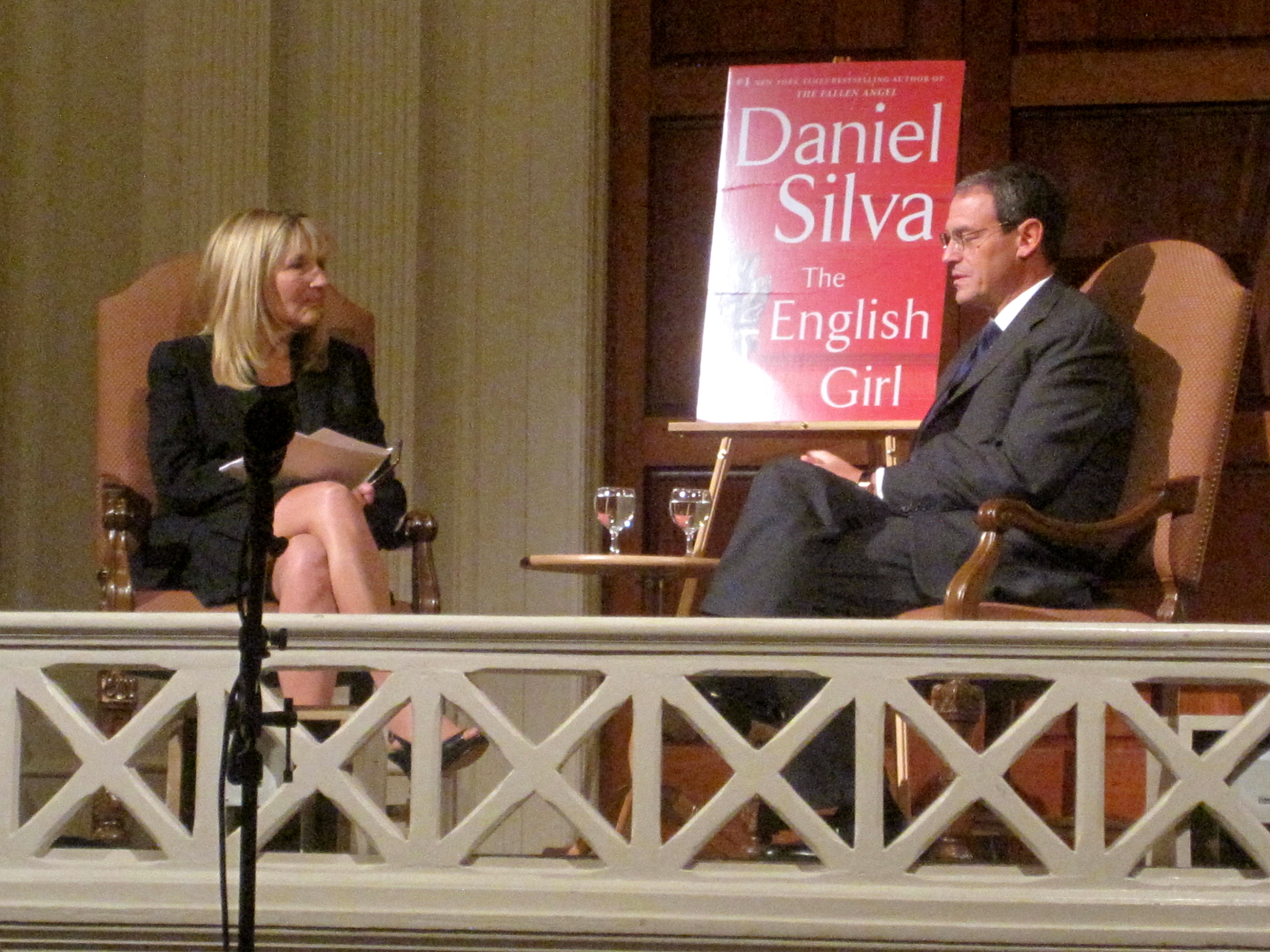 Bestselling 'The English Girl' Author Daniel Silva Divulges Habits and Habiliments