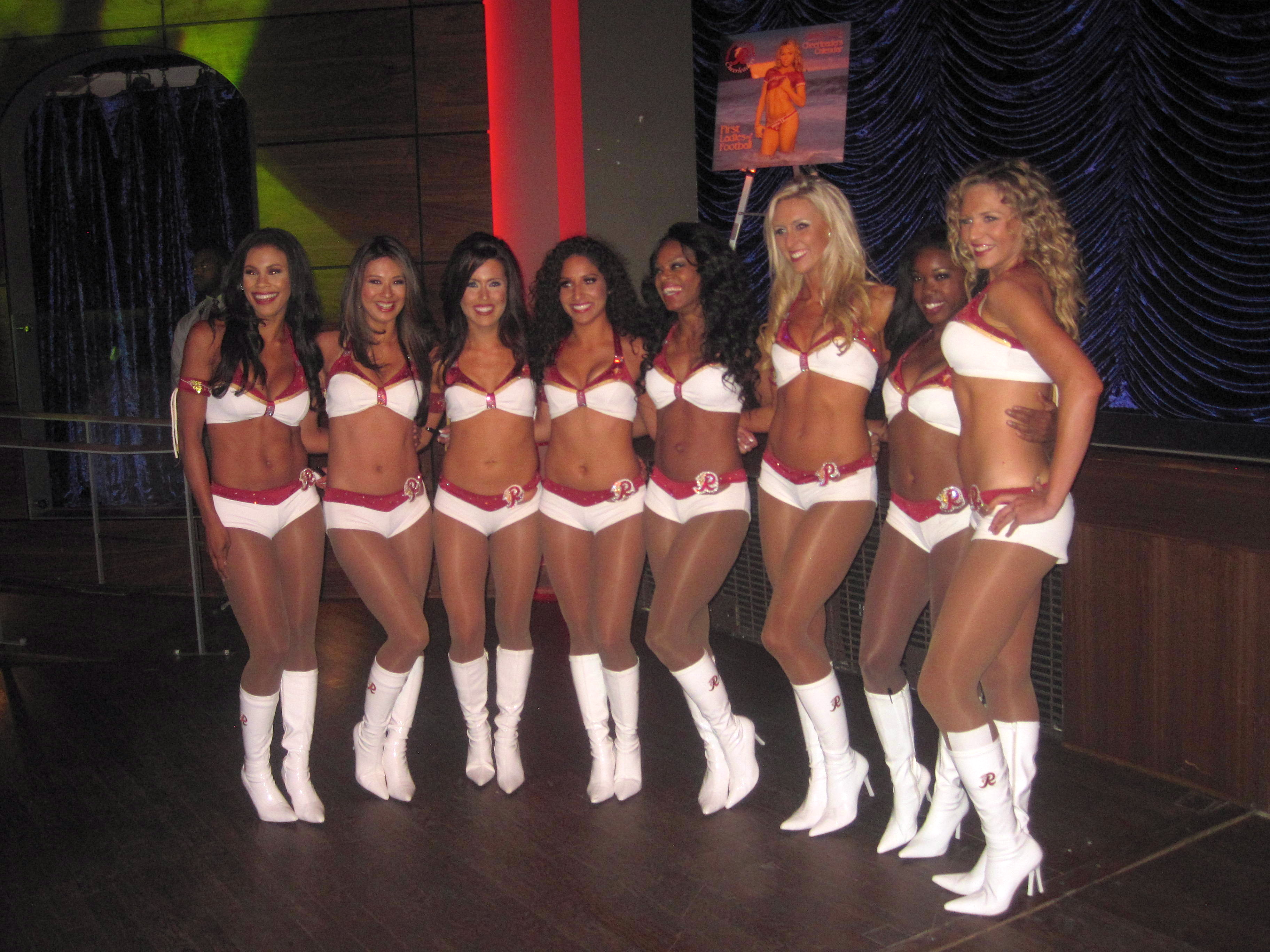 [Party Pix] Redskins Cheerleader Calendar Release Party