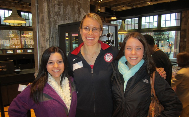 [Video] Olympic Gold Medalist Esther Lofgren Motivates LLS Nike Half Marathon Runners