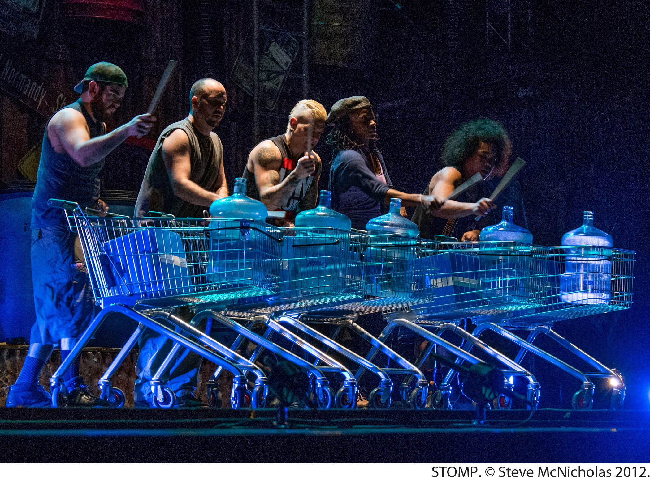 STOMP, A Show of Sounds, Now at National Theatre