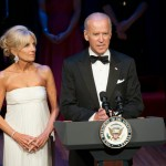 Dr. Jill Biden and Vice President Joe Biden.  Photo by Margot Schulman.