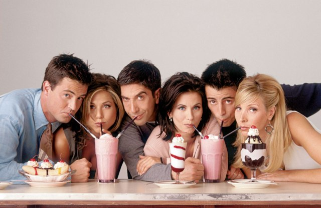 20 Years After 'Friends,' One Comes to DC Museum