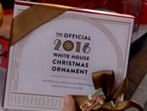 DC's Living History: Revealing the White House 2016 Christmas Ornament