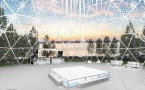 National Harbor is Constructing a Summer Snow Dome!