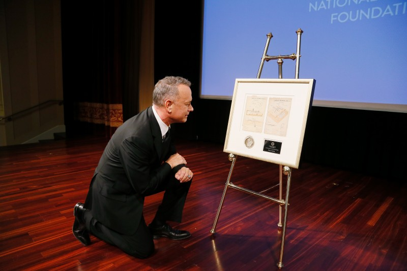 National Archives Foundation Honors Tom Hanks at Records of Achievement Award Gala