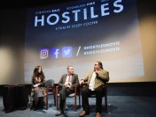 Christian Bale Dishes on Learning 19th Century Cheyenne at 'Hostiles' DC Screening