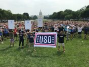 USO Supporters Set New Guinness World Record with Flex Events on the Mall