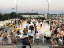 All About that #SundayFunday Life Sized BINGO on the UnionMarket Rooftop