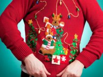 Enjoy a Free Drink at this Hotel's Ugly Holiday Sweater Happy Hours